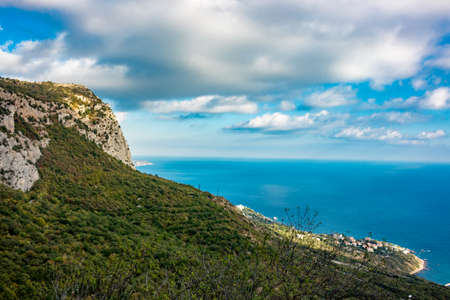 Mount Mshatka-Kayasy in Foros. The south coast of Crimea