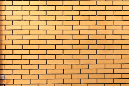 brick texture: Brick texture with scratches and cracks. Rorizontalnaya masonry. Texture as background with a copy of the space.
