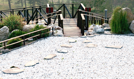 Ordinaire Rock Garden, And A Meditation On The Territory Of A Buddhist Temple. Datsan  Rinpoche