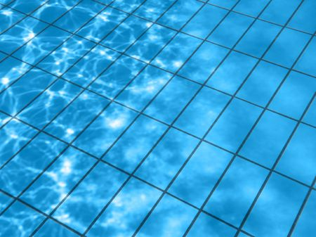 Pool water pattern photo