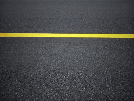 Road traffic paint on the asphalt surface And to ensure safety Archivio Fotografico - 122275499