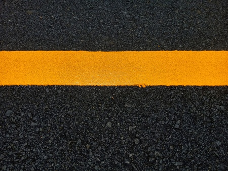Road traffic paint on the asphalt surface And to ensure safety Reklamní fotografie