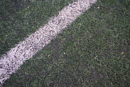 Artificial turf futsal field in Thailand