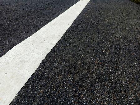 Asphaltic concrete road in Thailand Banque d'images - 132014986