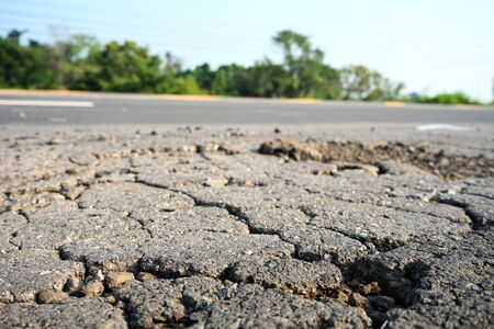 Damaged roads, potholes Must have urgent surface repair With the method of digging, repairing, and covering it with asphalt