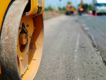 Rollers Road maintenance work in Thailand