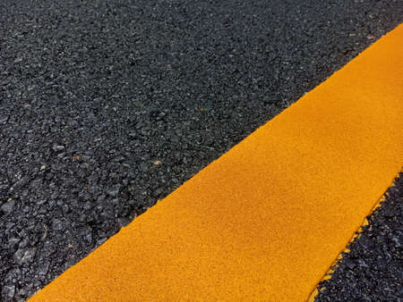 Yellow traffic line color For the safety of traveling