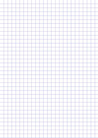 A4 size graph paper used in advertising media production