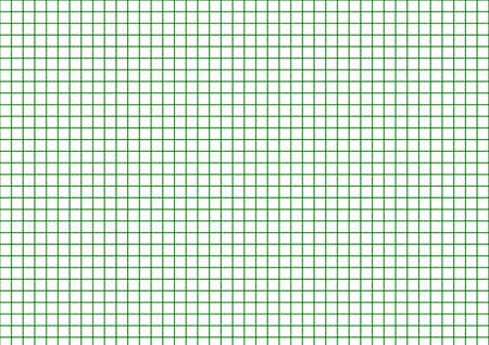 Green grid line, 1 cm wide, used in the design of advertising media.