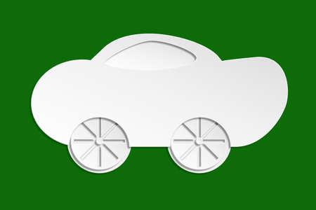 Personal car Three dimensional shape