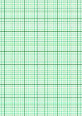 Green grid lines A4 paper size Used in drawing work Archivio Fotografico