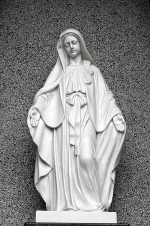 Statues of Holy Women in Roman Catholic Church Stock Photo - 13067537