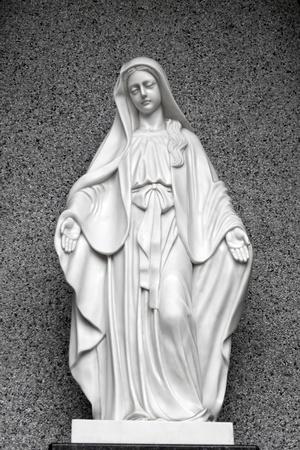 Statues of Holy Women in Roman Catholic Church Stock Photo - 13067537