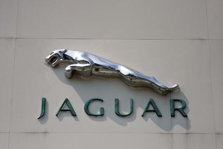 jaguar motors in Taiwan Stock Photo - 13062340