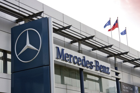 mercedes: mercedes benz motors in Taiwan Editorial