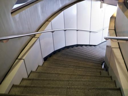 underground stair path in urban Taipei Stock Photo - 16123941