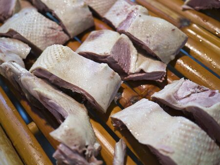 raw goose meat on sale Stock Photo - 16428511
