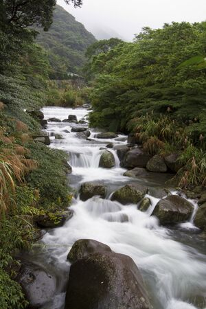 natural datun stream in Taiwan Stock Photo - 16703359