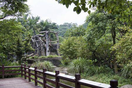 Landscaped Formal Garden. Park. photo