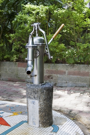 old style spigot in park Stock Photo - 17021029