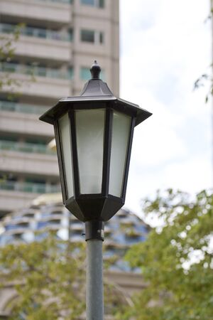close view of a street lamp Stock Photo - 17180762
