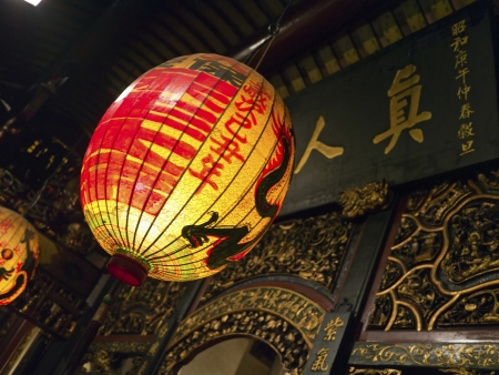 asia traditional religious lantern in bao an temple Stock Photo - 17244579