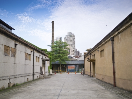 old taipei brewery building exterior outdoor Stock Photo - 17411105