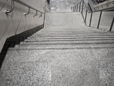 way of living: stairs From underground passage with many steps