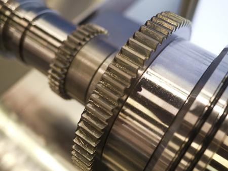 bearing of working machine Stock Photo - 18502775