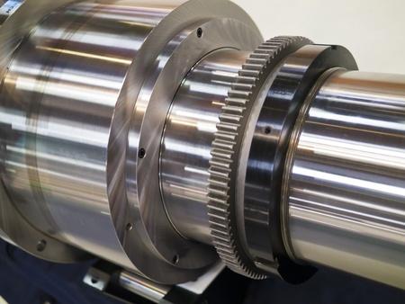 bearing of working machine Stock Photo - 18502771