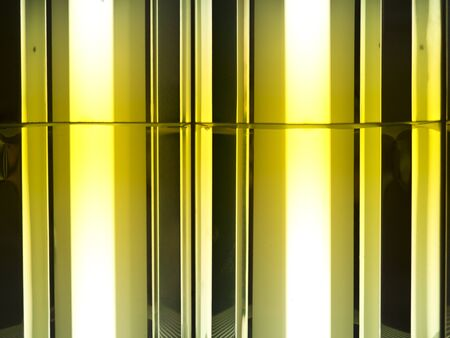 abstract background of light lamp pattern photo