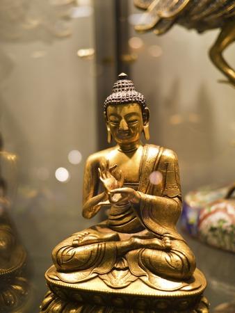 gautama buddha: Taipei, Taiwan - Sep 9, 2013: various buddha sculpture display in Taipei world trade center on Sep 9,2013 in Taipei,Taiwan.this is Gautama buddha sculpture.