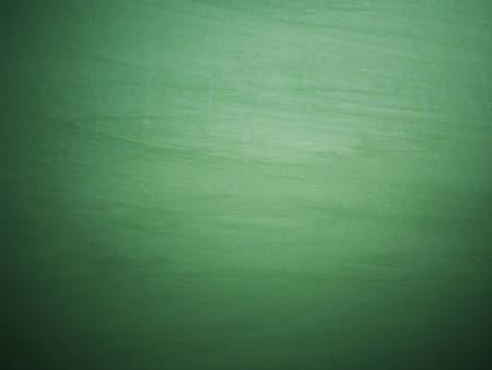 chalkboard: Chalkboard blackboard. Green chalk board texture empty blank with chalk traces. Stock Photo