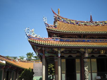 taiwan traditional historic temple Stock fotó