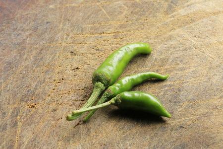 consuming: green chili