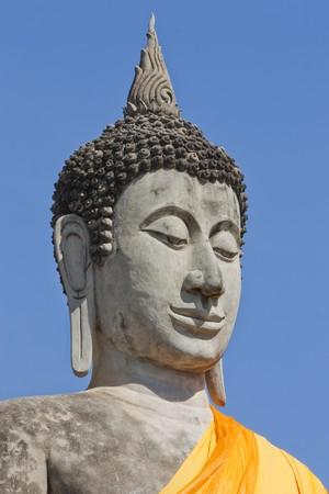 be the identity: wat yai chaimongkol,ayuthaya of thailand