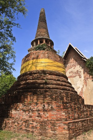 thialand: Pagoda in Ayuthaya, center of Thialand
