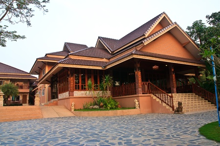 modern building thai style