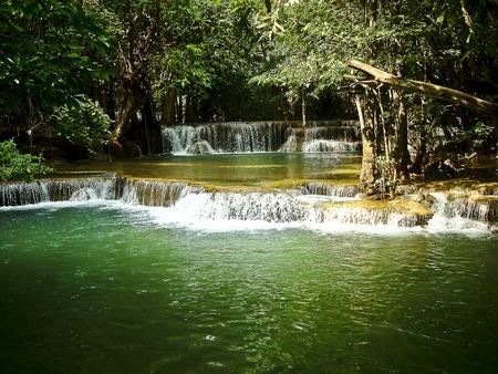 Force of the water, turmeric Huai Kanchanaburi thailand photo