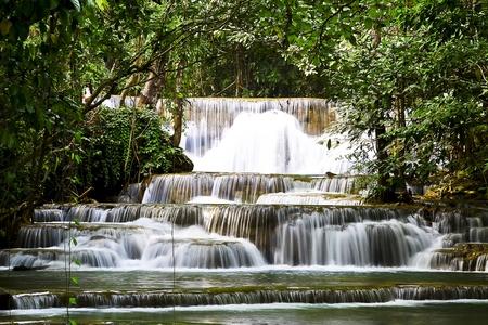 Force of the water, turmeric Huai Kanchanaburi thailand