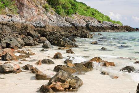 Nang Rong Beach Chonburi Thailand. Stock Photo - 9548611