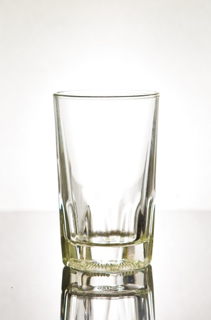 Glass with water photo