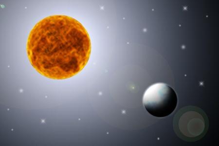 ozon: Wenn der Mond in der Nähe der Erde ist.