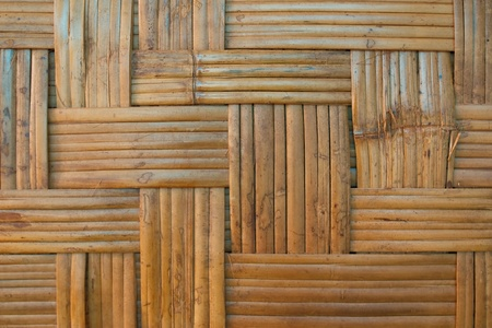 Texture of bamboo weave,used for background photo
