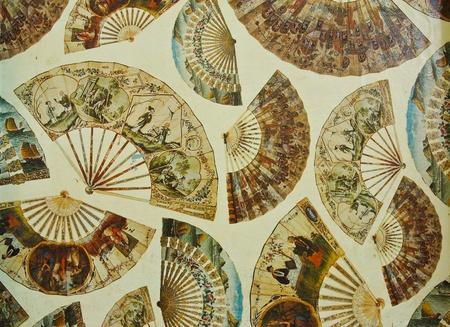 Chinese traditional folding fan
