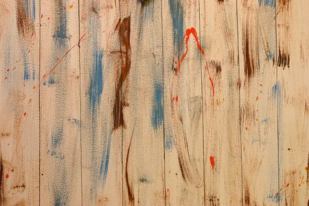 old painted wood texture  photo