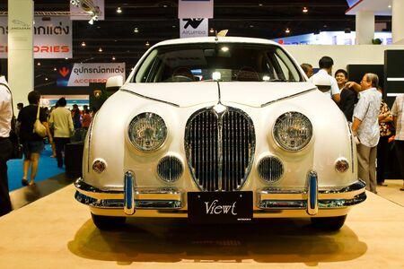 BANGKOK - MARCH 27: Mitsuoka car on display at The 33th Bangkok International Motor Show on March 27, 2012 in Bangkok, Thailand. Stock Photo - 13226429