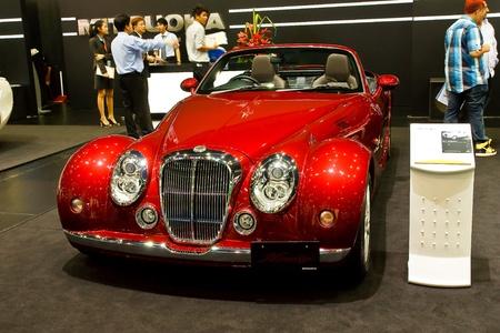 BANGKOK - MARCH 27: Mitsuoka car on display at The 33th Bangkok International Motor Show on March 27, 2012 in Bangkok, Thailand. Stock Photo - 13226445