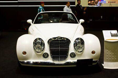 BANGKOK - MARCH 27: Mitsuoka car on display at The 33th Bangkok International Motor Show on March 27, 2012 in Bangkok, Thailand. Stock Photo - 13226398