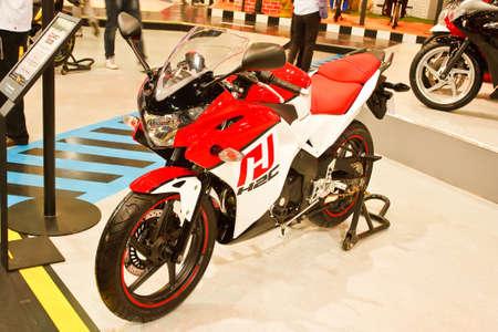 BANGKOK - MARCH 27: Honda on display at The 33th Bangkok International Motor Show on March 27, 2012 in Bangkok, Thailand. Stock Photo - 13226422